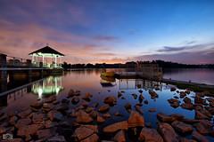 Lower Peirce Sunset (Raymark Soldivillo) Tags: sunset nikon singapore bluehour 1635 raymark d800e soldivillo