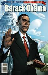 Barack Obama: The Road to the White House (FranMoff) Tags: comicbooks campbell barackobama jscottcampbell