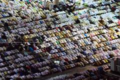 Over 1 million Muslims performing Fajr Prayer (Ahmad Mortaja) Tags: architecture worship minaret islam prayer religion eid mosque arab saudi arabia medina muslims ramadan saudiarabia prayers ksa  worshipers     eidalfitr        medinalive