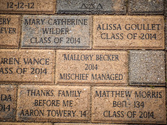 Belltower Walkway Bricks-002 (RandomConnections) Tags: belltower furman furmanuniversity greenville montague southcarolina unitedstates us