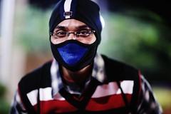 Ninja Shishu (N A Y E E M) Tags: jishu nath bartender mask portrait latenight street gmroad chittagong bangladesh availablelight carwindow shishu