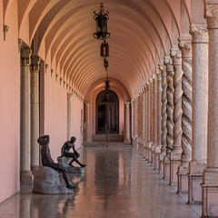In the cloister (Tim Ravenscroft) Tags: cloister italian art museum ringing sarasota florida