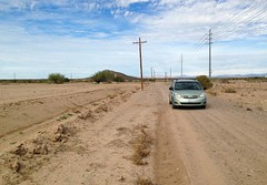 """In search of the letter """"F""""... 20161215_8165 (listorama) Tags: lettersonhills usa letter arizona florence greenweenie toyota sienna"""