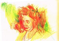 SIMPLIFICACIÓN (GARGABLE) Tags: rostro sketch drawings dibujos angelbeltrán apuntes gargable