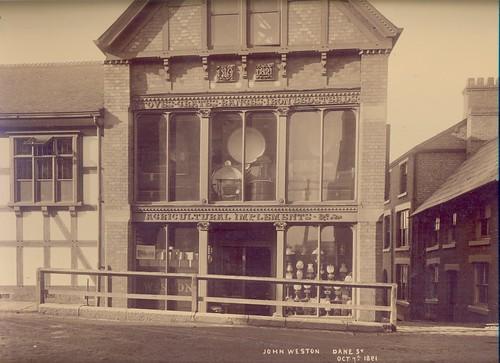 John Weston, ironmonger, Dane Street - 1891