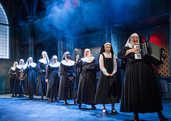 SISTER ACT. Company. Photo by Tristram Kenton (TRPlymouth) Tags: sisteract leicestercurve burke francis ashe robyns lambert goggin mann vandenberg maxwellclarke harding grigelis morgangrahame rojas peerless wilman pease