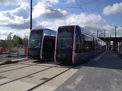 57 & 59 Alstom Citadis 402 - 23 mai 2013 (Rue Jean Monnet - Joue-les-Tours) (Padicha) Tags: auto new old bridge france water grass car station electric truck river french coach ancient automobile eau indre may police voiture ruine cher rest former 37 nouveau et loire quai franais nouvelle vieux herbe vieille ancienne ancien fleuve nationale vehicule lectrique reste gendarmerie gazon indreetloire franaise pave nouveaut vhicule utilitaire restes vgtalise letramdetours padicha
