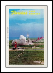 NASA Postcard Folder, 1964 (Cosmo Lutz) Tags: nasa rocket capecanaveral launch 1964 capekennedy