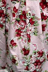 the print on Lora's super cute skirt (House Of Secrets Incorporated) Tags: roses flower leuven belgium belgië strawberries lolita egl louvain bodyline classiclolita lolitameet belgiancupcakes