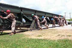Combat engineers build bridge, increase capabilities (Okinawa Marines) Tags: japan usmc unitedstates military sailors okinawa marines marinecorps unitedstatesmarinecorps usmarinecorps servicemembers iiimef iiimarineexpeditionaryforce okinawamarine mcipac marinecorpsinstallationspacific