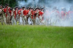 Revolution_161 (Sharp Perspective Photography) Tags: history colonial british reenactment colony musket firelock