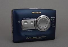 Aiwa EX130 Bleu (badferrari27) Tags: walkman cassette aiwa k7