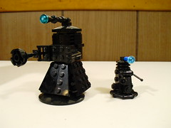 Doctor Who Dalek Sec and Super Dalek (morpheus1856) Tags: lego box anniversary room police doctorwho scifi dalek tardis 50th companion console minifigure
