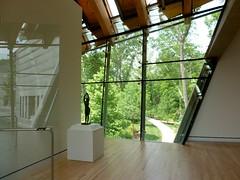 P1000833 (harvobro) Tags: trip sculpture art museum architecture landscape arkansas grounds bentonville americanart architectmoshesafdie walmartfunded
