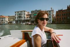 Bellissimo ... (Rob Overcash Photography) Tags: travel venice portrait italy holiday beauty canon boat canal venezia watertaxi motoscafi bellissimo fuji400h vsco robotography 5dmk3 robovercashphotography