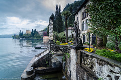 Villa Monastero (Documentary & Travel Photography) Tags: lake inspiration como cold art love water beauty dedication work painting relax waterfront dream romance illusion destination romantic bellagio mansion palazzo luxury scupture varenna lombardy sophistication italytravel spartivento