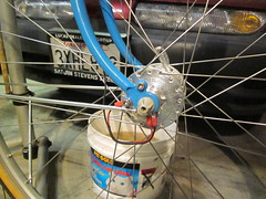 Dyno Hub Wires (jimgskoop) Tags: blue bicycle cycling pelican custom racks randonneur boxdogbikes 2013 bdb eyefi