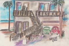 beach house 001 (roberthuffstutter) Tags: pastel americana artforsale beachhouse lagunabeach facebook earlrstonebridge huffstutter huffstuttersart artandorphotosbyhuffstutter beachhouseofearlrstonebridge