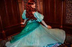 Princess Ariel - New Dress (EverythingDisney) Tags: ariel princess disneyland disney newdress dlr thelittlemermaid royalhall princessariel