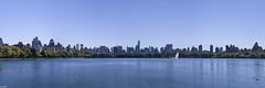 NYC Skyline via Central Park (Wallace Flores) Tags: nyc panorama fall nikon centralpark newyorkstate d3s