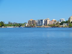 Brisbane River - out of the city (Digidoc2) Tags: cityscapes australia rivers brisbaneriver urbanlandscapes waterscenes