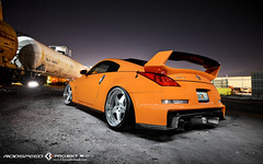 K3 Projekt Wheels IND Series Model BM5 (K3 Projekt) Tags: city orange lightpainting cars japan night industrial awesome wheels free static rims 350z forged projekt jdm blacklist slammed k3 nismo illest 3piece h2oi stanced canibeat iamsimplyclean rodspeed