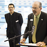 """<b>Aquatic Center Dedication of Service_100413_0150</b><br/> Photo by Zachary S. Stottler Luther College '15  <a href=""""http://farm4.static.flickr.com/3806/10095614515_47213cc057_o.jpg"""" title=""""High res"""">∝</a>"""