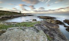Bath house , Howick (Richard J Armstrong) Tags: sunset seascape beach rocks waves northumberland coastline goldenhour howick bathhouse sigma1020mm gradfilter richardarmstrong canon7d leefiter