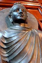Standing life-size Buddha (manalahmadkhan) Tags: pakistan sculpture statue stone museum standing buddha buddhist lahore khyber schist gandhara pakhtunkhwa