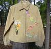 Owl Jacket (susanthornton) Tags: altered jacket owl rawedge upcdooz