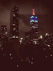 ESB (maisa_nyc) Tags: nyc newyork skyscraper esb empirestatebuilding antiquefilter uploaded:by=flickrmobile flickriosapp:filter=antique