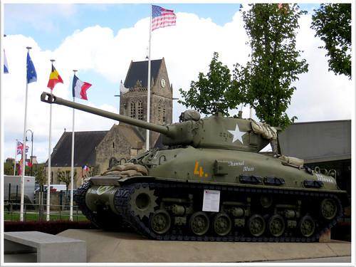 Sainte-Mère-Église Airborne museum.