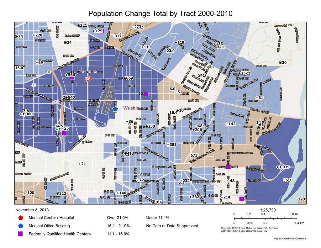 Photo And Map Friday The Social Determinants Of The NoMa - Washington dc map by neighborhood