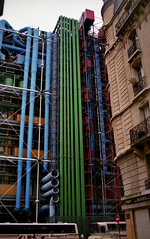 Structure (Fraser P) Tags: autumn paris france outside exterior centre pipes piano richard 1984 rogers pompidou renzo