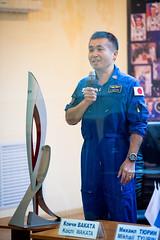 Expedition 38 Press Conference (NASA Johnson) Tags: kazakhstan baikonur cosmonauthotel baikonurcosmodrome koichiwakata expedition38 expedition38preflight