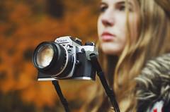 Voyage #flickr12days (Rachel.Rosemarie) Tags: camera selfportrait film me photoshop self 50mm nikon magic floating filmcamera nikonfm2 levitating d5100 flickr12days