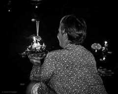Loi Krathong - Bangkok (Nathan A Rodgers) Tags: travel blackandwhite bw holiday thailand asia southeastasia bangkok streetphotography countries streetscenes 2012 lumpinipark loikrathong travelphotography