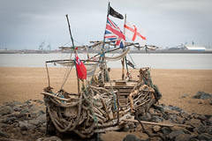 The Black Pearl-8226 (johnrobjones) Tags: black art ship driftwood pirate pearl wirral newbrighton