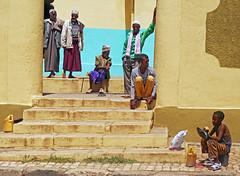 Shoe Shine Boy at the Mosque, Harar (themanwithsalthair) Tags: muslim islam mosque ethiopia shoeshine harar harer