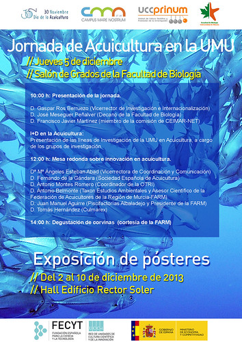 Jornada Acuicultura UM y CMN