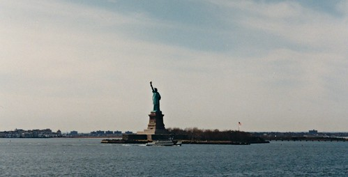 1997 NYC: statue of liberty #1