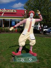 OH Cleveland - Ronald McDonald (scottamus) Tags: ohio sculpture strange statue weird cleveland mcdonalds odd unusual roadside oddity ronaldmcdonald attraction cuyahogacounty