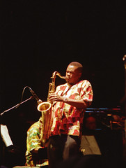 Township Express South African Gospel Singers Queen Elizabeth Hall with Pinise Saul RIP Julia Mathunjw RIP and the Manhattan Brothers Dec 1999 091 Ray Carless (photographer695) Tags: township express south african gospel singers queen elizabeth hall with pinise saul rip julia mathunjw manhattan brothers dec 1999 qeh sep 000