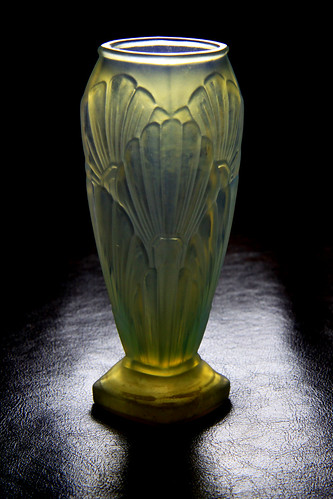 Opalescent vase