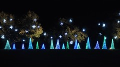 Trees & snowflakes (teohwp85) Tags: christmas trees home gardens snowflakes lights magic alabama bellingrath theodore
