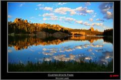 Custer State Park (pharoahsax) Tags: world park morning usa sun lake get southwest colors rock clouds southdakota canon see state south wolken sd sp romantic dakota sylvan 2012 custer felsen morgensonne romantisch südwesten canon5dmk3 5dmk3 pmbvw worldgetcolors
