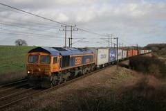 66728 (DennisDartSLF) Tags: train class66 gbrailfreight belstead gbrf 66728 4m23
