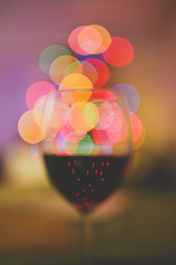 (Amazing Truth) Tags: christmas glass wine bokeh f14 sigma led dop shallowdepthoffield
