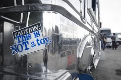 Caution (Arne Kuilman) Tags: warning sticker philippines caution bumpersticker slogan jeepney notatoy itsmoreinthephilippines