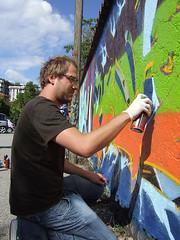 THP crew jam - Brugherio 2006 (Airone THP TNB) Tags: graffiti kid gob jame ater loze airone thp ghen milanograffiti thero kayone graffitimilano